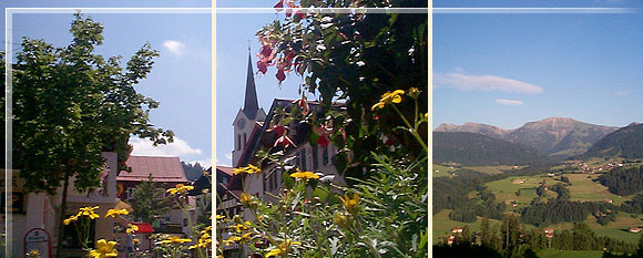 Collage Oberstaufen-Fotos